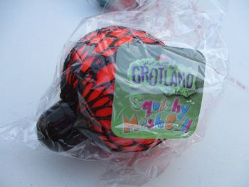 Orange Squishy Mesh Ball - Grotland