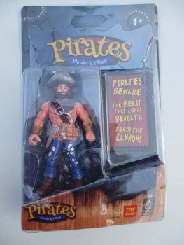 Blue Trousered Pirate - Pirates Plunder & Pillage