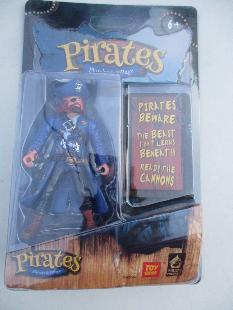 Blue Jacketed Pirate - Pirates Plunder & Pillage