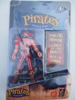 Red Trousered Pirate - Pirates Plunder & Pillage