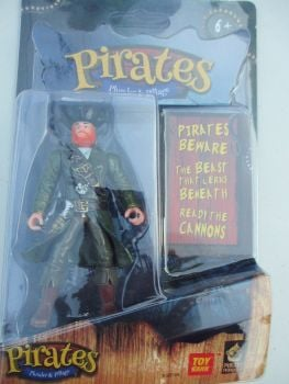 Green Jacket Pirate - Pirates Plunder & Pillage