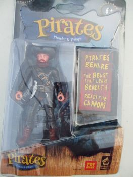Black Jacket Pirate - Pirates Plunder & Pillage