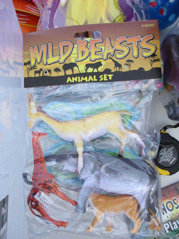 Gazelle Bag - Wild Beasts Playset
