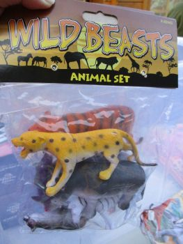 Cheetah Bag - Wild Beasts Playset