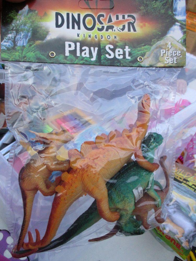 Stegosaurus Bag - Dinosaur Kingdom Playset
