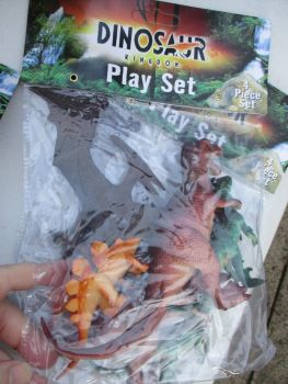 Pteranodon Bag - Dinosaur Kingdom Playset