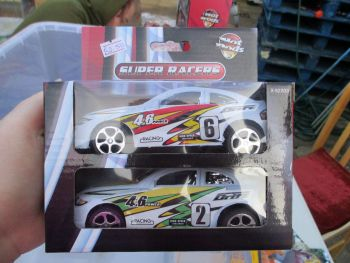 #6 / #2 Hot Rods Super Racers Twin Car Pack