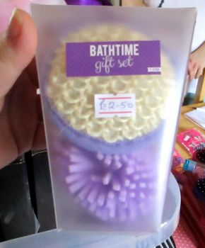 Purple Bathtime Gift Set - Travel Size