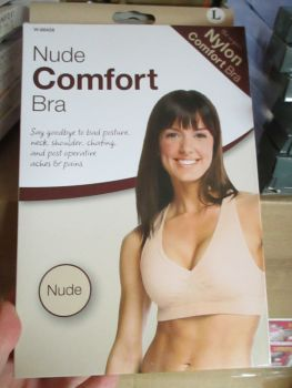 Large Nude Comfort Support Bra