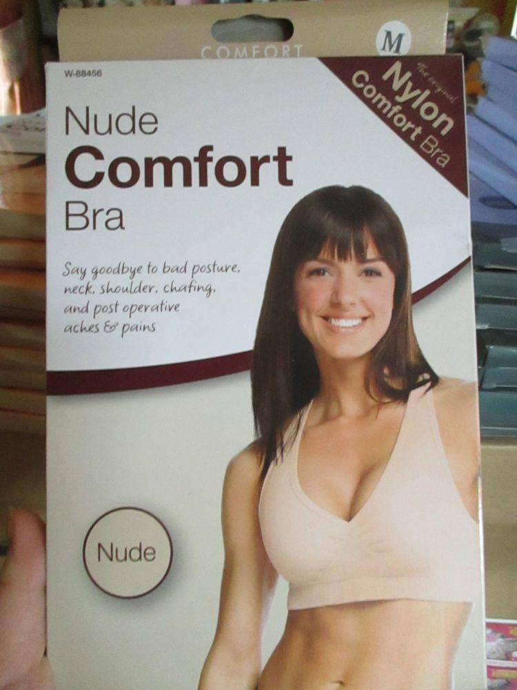 Medium Nude Comfort Support Bra