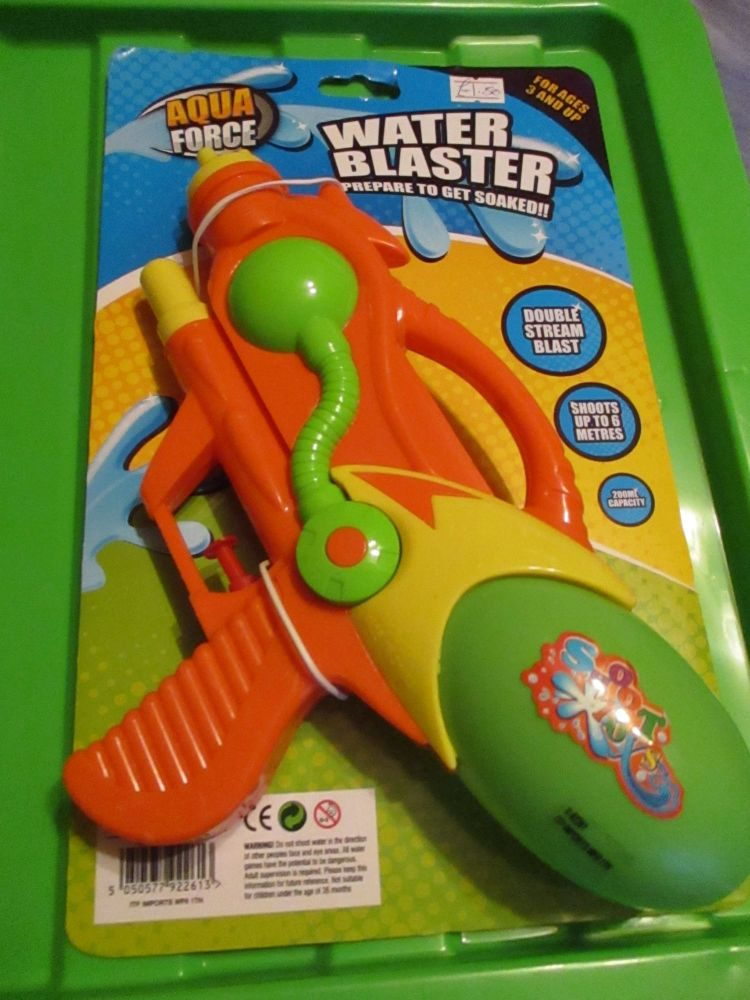 Orange Aqua Force Water Blaster