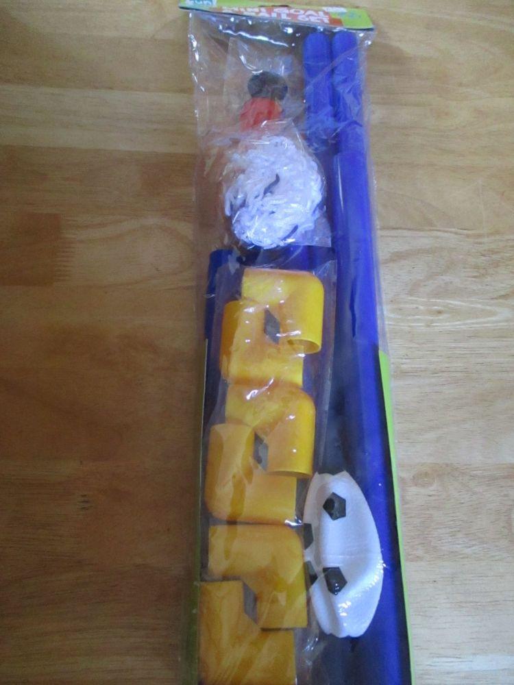 Mini Football Goal & Play Set