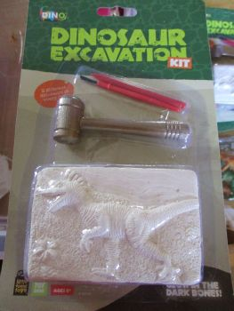 Raptor Dinosaur Excavation Dig Out Kit