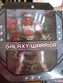 Red Galaxy Warrior Play Set
