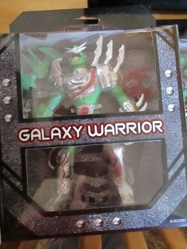 Green Galaxy Warrior Play Set