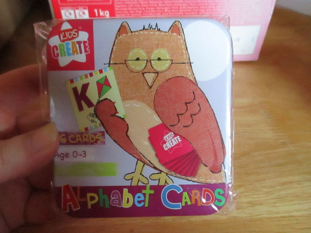 Kids Create - 26pc Alphabet Cards Game In Tin