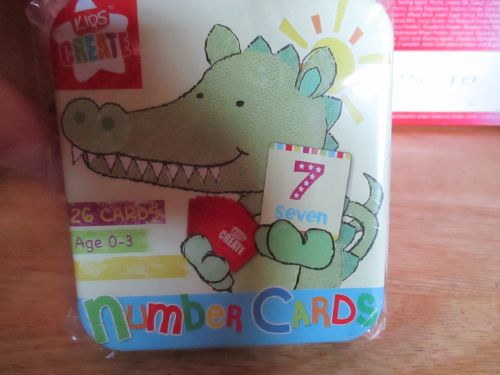 Kids Create - 26pc Number Cards Game In Tin