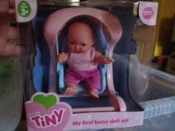 Swing Set - Teeny Tiny My First Baby Doll Set