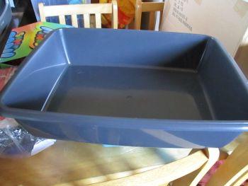 Cat Litter Tray - 48cm - Charcoal