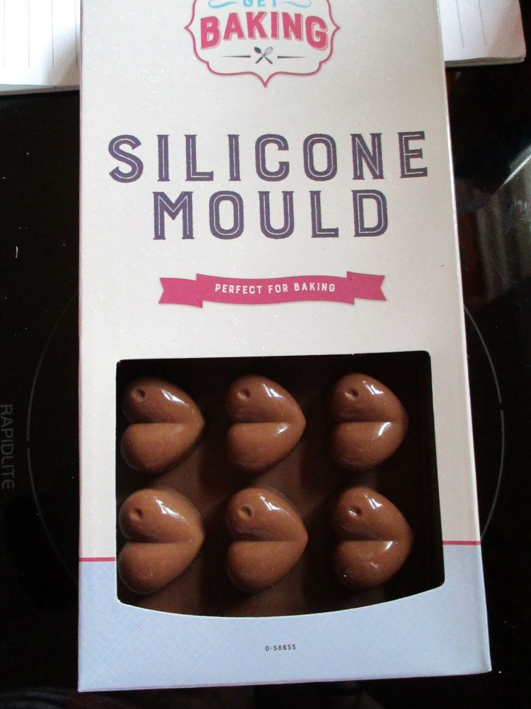 Brown Heart Silicone Mould - Get Baking