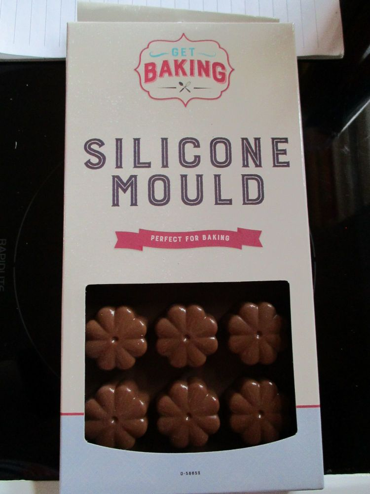 Brown Flower Silicone Mould - Get Baking