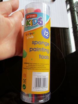 12pc Sponge Painting Tools Set - Artpac