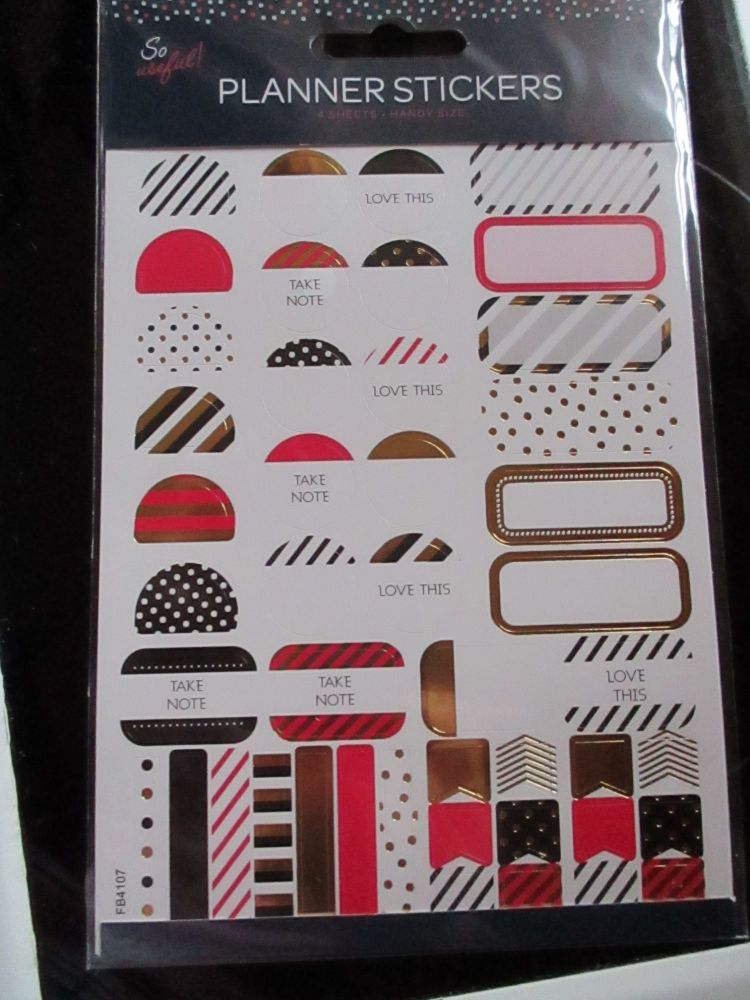 Dots & Dashes Borders - Planner Stickers - So Useful