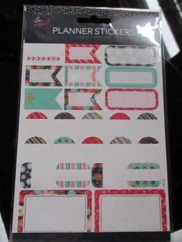 Colourful Borders - Planner Stickers - So Useful