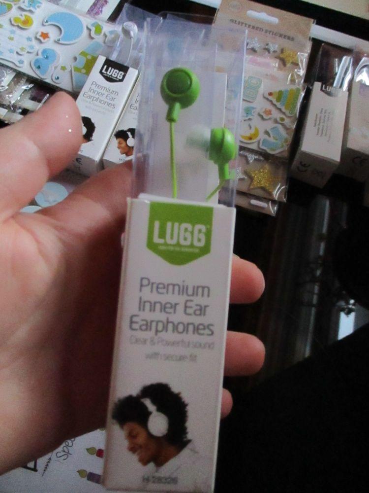 Green - Lugg - Premium Inner Ear Earphones