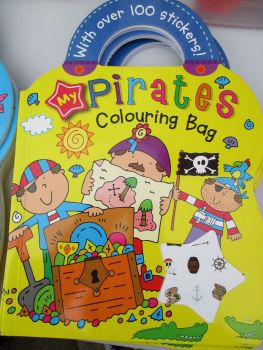My Pirates Colouring Bag - With Over 100 Stickers