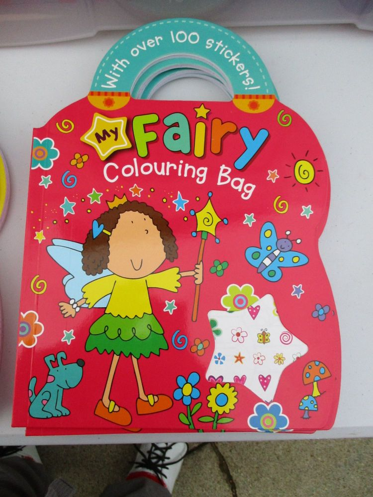 My Fairy Colouring Bag - With Over 100 Stickers