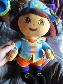 Pirate Dora - Nickelodeon Dora The Explorer - Soft Toy