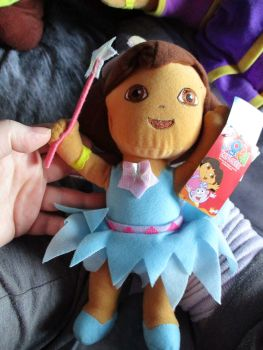 Medium Fairy Dora - Nickelodeon Dora The Explorer - Soft Toy