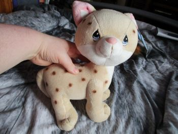 Spotted Cheetah - Precious Moments - Soft Toy
