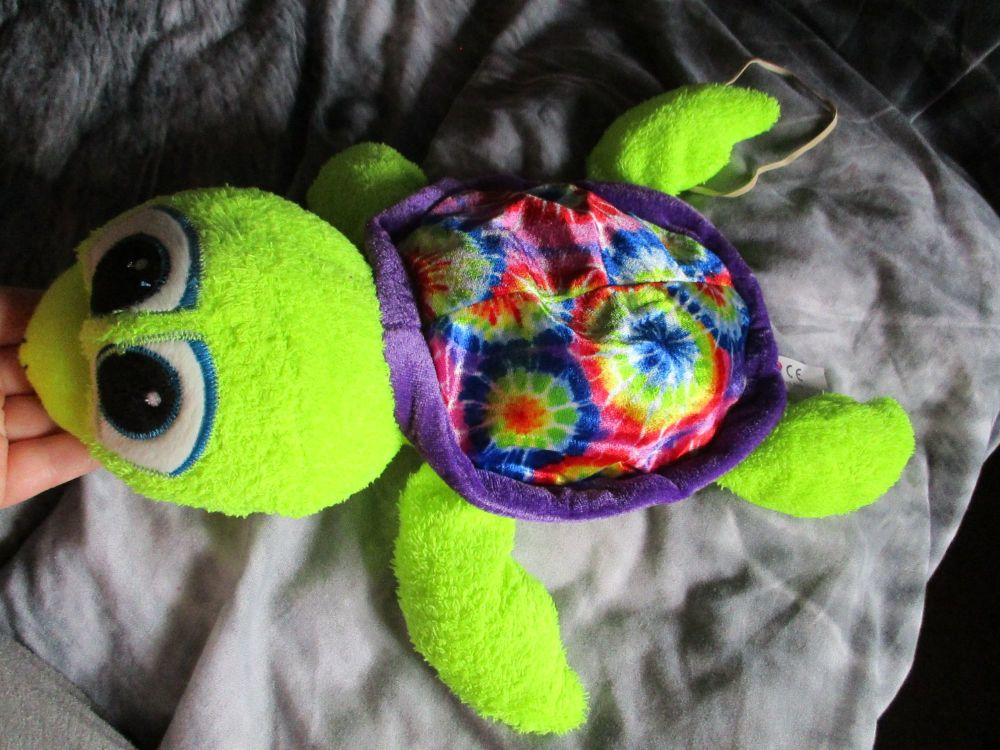 Purple Patterned Turtle - Character Co - Soft Toy