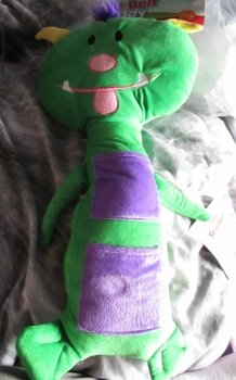 Green Monster Giant Seat Belt Protector - Cuddle Kingdom - Soft Toy