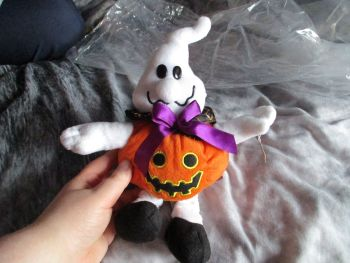 Ghost Pumpkin - Paws - Soft Toy