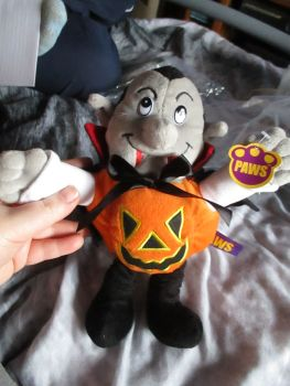 Dracula Pumpkin - Paws - Soft Toy