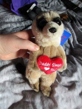 Daddy I Simply Love You Meerkat - Keel - Soft Toy