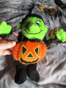 Frankenstein Pumpkin - Paws - Soft Toy