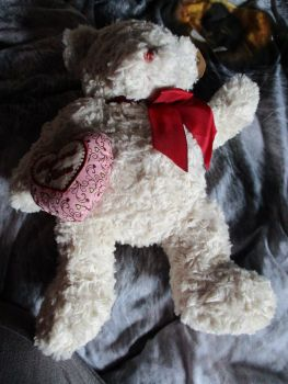 White Hugs & Kisses Bear - Hugs & Co - Soft Toy