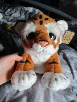 Realistic Tan Tiger Cub - Soft Sensations - Soft Toy