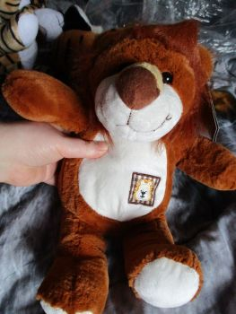 Lion with Patch - Soft Sensations - Soft Toy