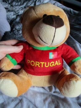 Portugal W/Sewn Shirt - Football Crazy - Soft Toy