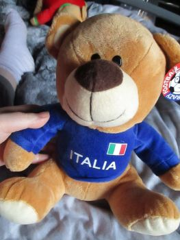 Italia W/Sewn Shirt - Football Crazy - Soft Toy