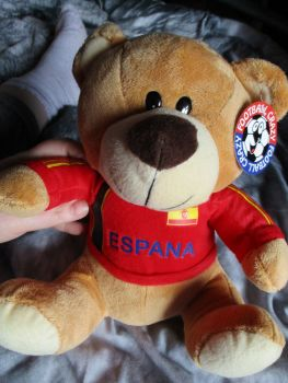 Espana LD W/Sewn Shirt - Football Crazy - Soft Toy