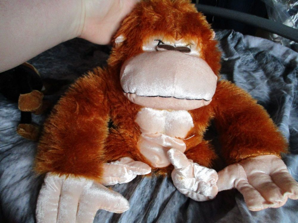 Tan Gorilla - Character Co - Soft Toy