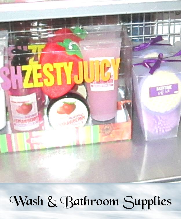 Wash & Bathroom Supplies
