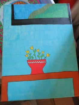 Basic Plant Pot - Box Frame Canvas - JGPaws