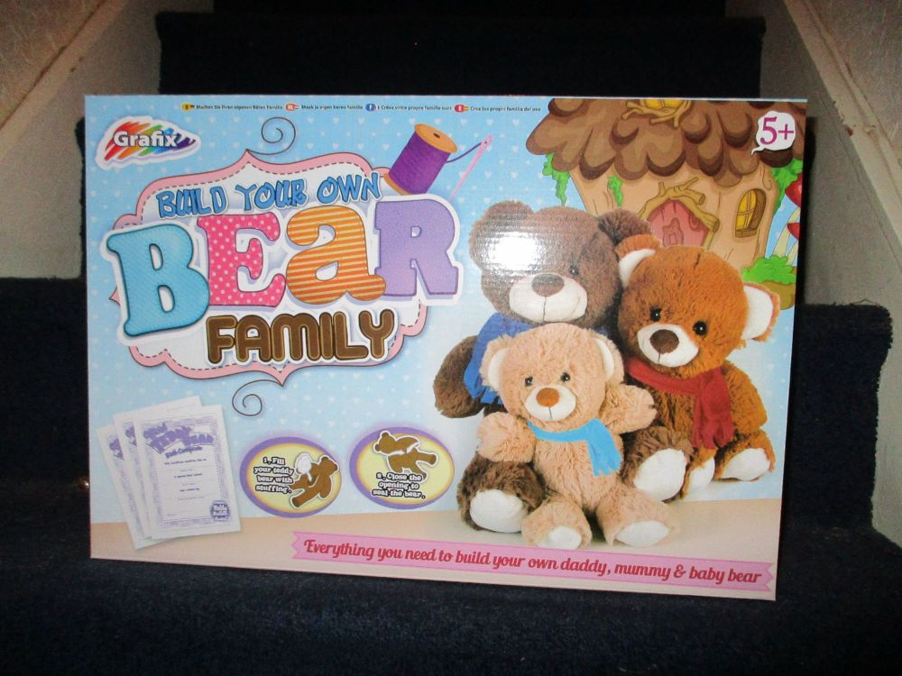 Build Your Own Bear Family - Grafix